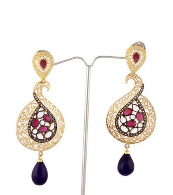 Sihiri Exquisite Peacock Earrings