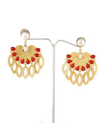 Sihiri Pearly Dangler Earrings