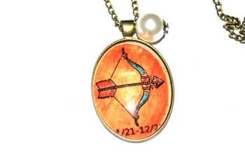 Zodiac (Sagitarius necklace)
