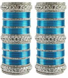 Buy Turquoise Crystal bangles-and-bracelets bangles-and-bracelet online