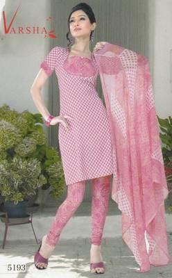Crepe dress material elegant designer unstitched salwar suit d.no 5193