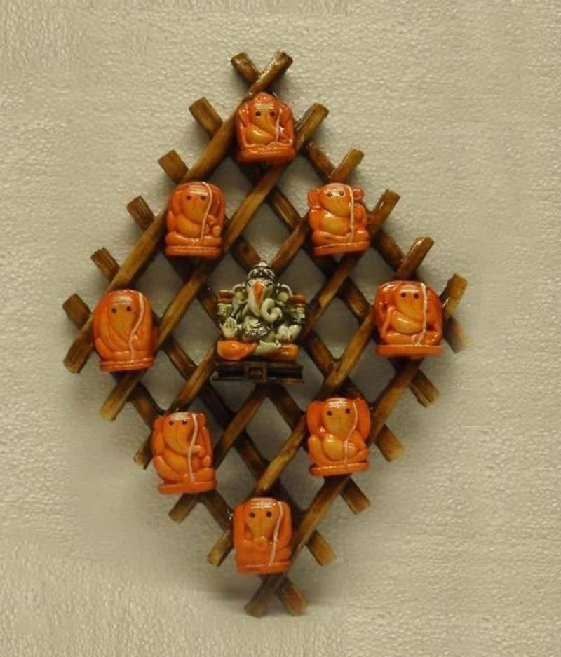 Buy Ganesha Ashtavinayak Wall Hanging Online