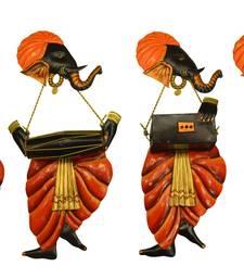Buy Band of Ganesha DholakVeena Rebec + Harmonium wall-hanging online