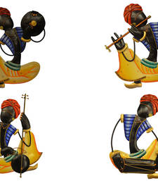 Buy Traditions of Rajasthan  Band of Men Playing Instruments wall-hanging online