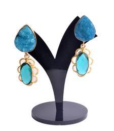 Buy Aquamarine earrings gemstone-earring online