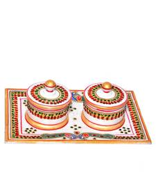 Buy Marble tray set tray online