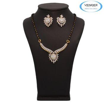 Vendee Fashion Attractive Mangalsutra Pendant Set (7219)