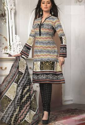 Cotton Dress Material Elegant Designer Unstitched Salwar Suit D.No 3170