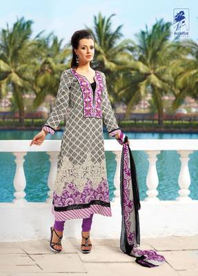 Designer Dress Material Jadui 3006