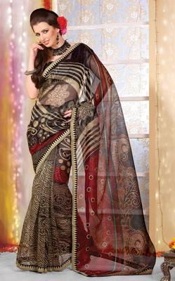 Designer Supernet Sari Jadoo1127