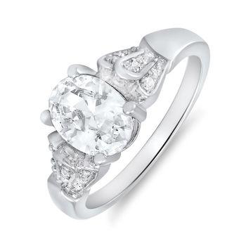 Mahi Dazzling Charm Ring