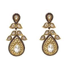 Buy charming Purple Earring danglers-drop online