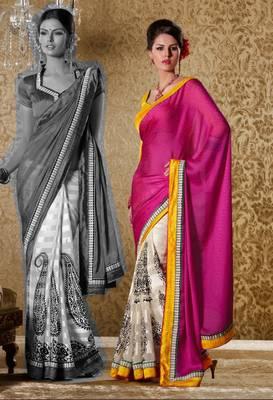 Elegant Designer Sari Gun8407c