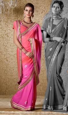 Elegant Designer Sari Gun8417a