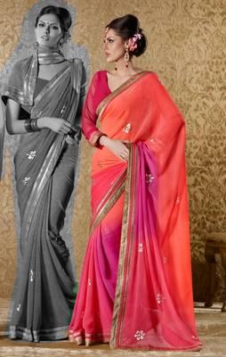 Elegant Designer Sari Gun8417c