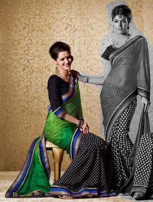 Elegant Designer Sari Gun8419a