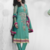 Beautiful Turquoise Georgette with Zari work dress material