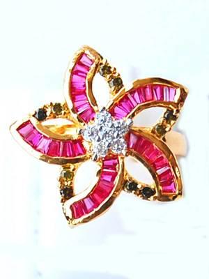 Lovely AD Flower Ring