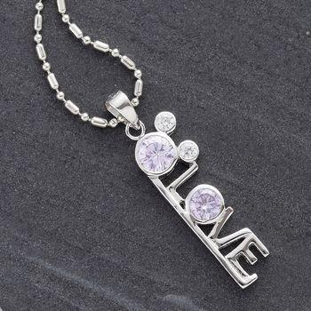 Sweetheart Silver Pendant