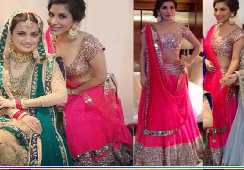Pink Color Fancy Designer Georgette Wedding Lehenga Online