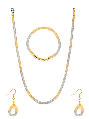 Exclusive Pearl Necklace Set with Earrrings