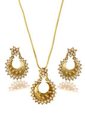Kshitij Pretty Beaded pendants with jhumki