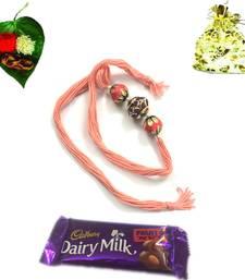 Buy Buy Premium Range Rakhi with chocolates rakhi-with-chocolate online