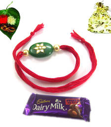 Buy Best offers on Rakhi with chocolates rakhi-with-chocolate online
