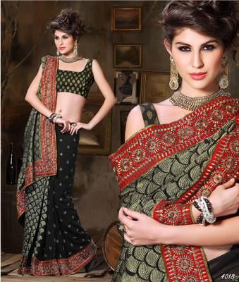 Designer Elegant Designer Sari Dhamaal4018