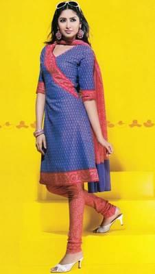 Dress Material Cotton Designer Prints Unstitched Salwar  Kameez  Suit D.No 1711
