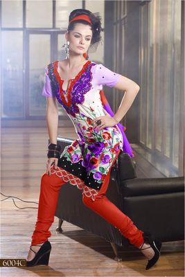 Designer Dress Material MASALA 6004 C
