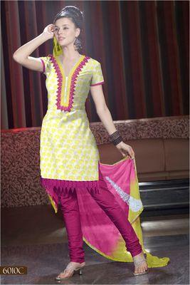 Designer Dress Material MASALA 6010 C