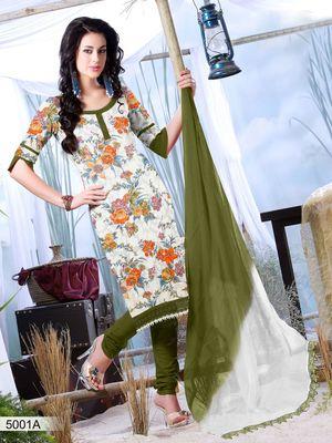 Designer Dress Material DRAPE 5001 A