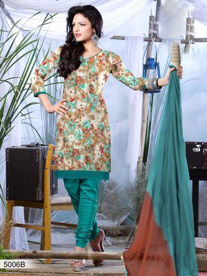 Designer Dress Material DRAPE 5006 B