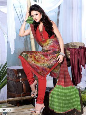 Designer Dress Material DRAPE 5010 C