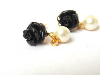 The Pearl Rose - Black